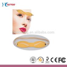 Permanente maquillaje tatuaje de la ceja piel de la práctica la piel falsa
