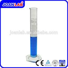 JOAN LAB 250ml Cilindro de medição Hexagonal de vidro para uso em laboratório