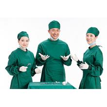 Tela no tejida SMS para batas quirúrgicas impermeables suministros hospitalarios
