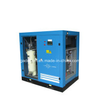 Compresor lubricado por aceite de tornillo de accionamiento de velocidad variable (KD55-13INV)