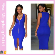 Hot-Selling Fashion Ladies Knee Length Summer Dress