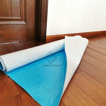 Atmungsaktive Bodenmatte zum Schutz von Holzböden