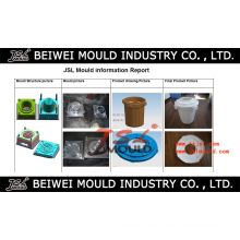 Injektions-Plastik-Staub-Abfall-Gabbin-Abfallbehälter-Form
