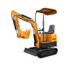 Mini máquina escavadora 1t diesel