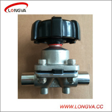 Stainless Steel Sanitary Butt Weld Diaphragm Operated Valve