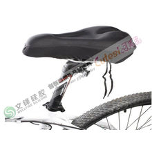 Non-slip Silicone Gel Products Bicycle Saddle Pad / Cushion