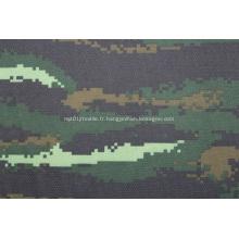 Tissu de tricot d'impression de coton ignifuge ignifuge