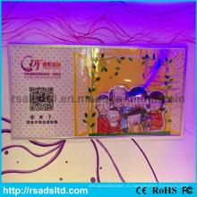 Висит акриловая Коробка СИД рамки плаката светлая