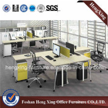 New Design MFC/MDF Board for 2 People Office Workstation (HX-MT5083)