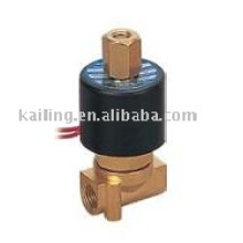 High pressure solenoid valves