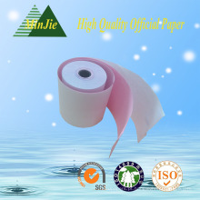 China fabricante Boa Qualtity 3-Ply Carboless rolo de papel térmico