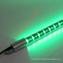 Éclairage décoratif changeant de couleur verticale de tube de LED
