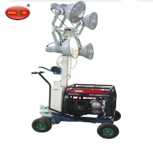 Trailer Hand Elevate LED Telescoping Light Tower