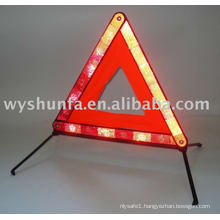 2015 new products led road reflective warning triangle