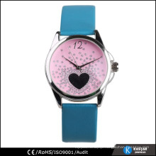 attractive design fashion girls leather watch