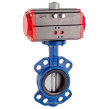 Пневматический клапан-бабочка вафли Multi-Standard соединение