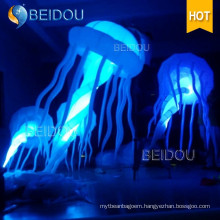 Custom Event Stage Wedding Party Decoration RC Lighted Inflatable Jellyfish