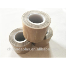 CD012-COFFE COLOR FIBERGLASS CLOTH ADHESIVE TAPE WITH WHITE PVC INNER TUBE
