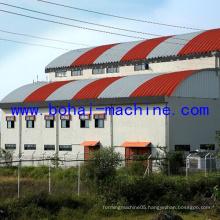 Bohai 914-750 Arch Roof Building Machine