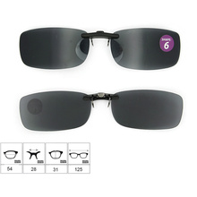 Good Quality Low Price Clip on Sunglasses with Case (shape 6)