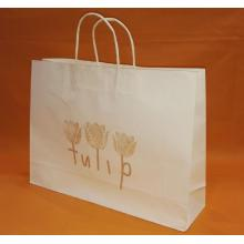 Small White Kraft Bags With Handles