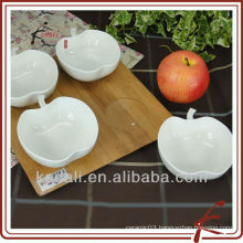 China Factory White Ceramic Porcelain Snack Dish Plant Dinner Set