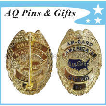 High Quality Metal Military Police Badge in Best 3D Engrave (badge-037)