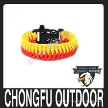 Bracelet 2016 4mm 7 inner strand paracord bracelet for your survival kit