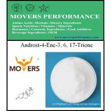 Pure Alta Qualidade 4-Androstenetrione 99% 2243-06-3