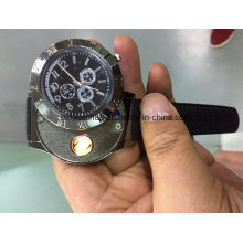 Hot Sale Electronic Lighter Quartz Watch USB Rechargeable