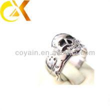 2013 Pulido 316L anillos de cráneo de acero inoxidable
