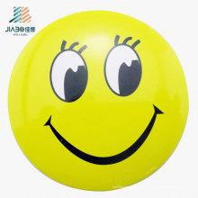 Alfiler de encargo del botón del logotipo de Emoji del amarillo de la fundición de la aleación de la fuente en metal