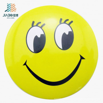 Supply Alloy Casting Print Yellow Emoji Logo Custom Button Pin in Metal