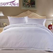 Especial para 3-5 linho do hotel da estrela, roupa de cama do fundamento do hotel / hotel