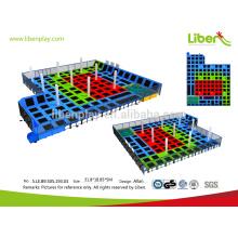Indoor-Spielgeräte mit Trampolin Park für Unterhaltung
