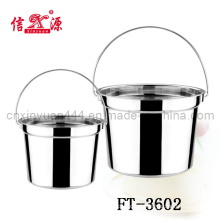 Stainless Steel Water Bucket & Household (FT-3602)