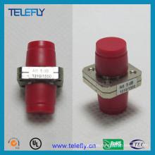 FC / PC atenuador de fibra óptica fija