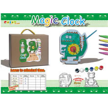 Juguetes de bricolaje reloj mágico juguete pintado (h2112144)