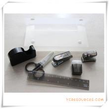 Ensemble de papeterie de boîte de PVC pour le cadeau promotionnel (OI18007)