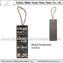 Europe Metal Bookmarks for Books