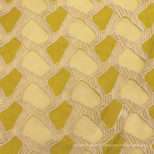 Tissu en maille brodée en textile