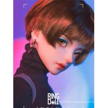 BJD Ellis Mädchen 59cm Puppen mit beweglichen Gelenken