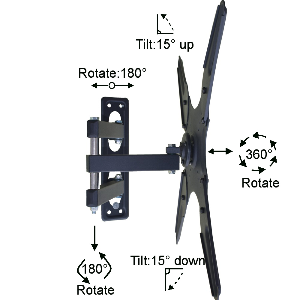 tv wall mount bracket detail AVRL400