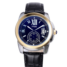 description display showcase automatic steel wrist watch