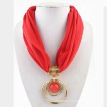 2017 últimas bufandas del infinito de las mujeres diseña la bufanda circular del poliéster
