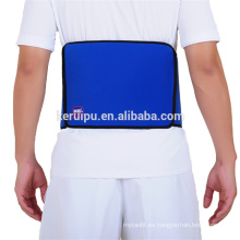 Pain relief hot and cold therapy backbrace with gel cooling pad