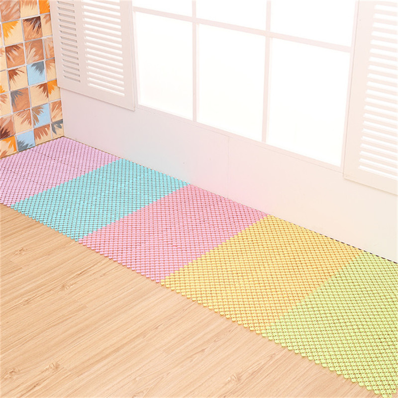 plastic bathroom floor mat