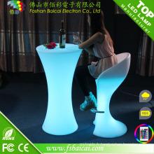 Table de barre lumineuse extérieure et intérieure (BCR-872T)