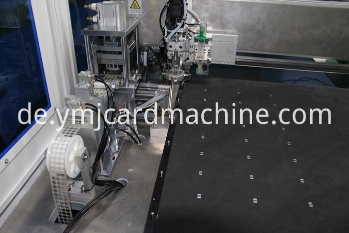 Detail Of Ic Stripe Mounting Machine