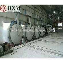 Venta caliente AAC bloque de la línea de producción de bloque de la planta